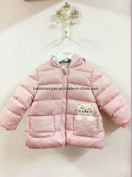 Little Cat Cartoon crianças raparigas vestuário de algodão Coletes acolchoados para 2019 Winter