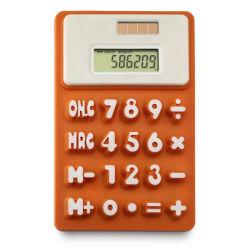 شمعيّة 8 رقم سليكوون حاسبة مع صنع وفقا لطلب الزّبون علامة تجاريّة