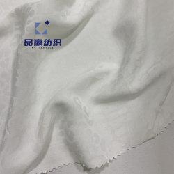 Ym2104 le tissu de polyester jacquard robe en mousseline de soie comme pour