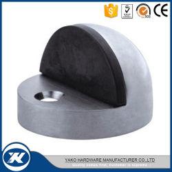 Fußboden-Montierungs-Gummitür-Stopper-Edelstahl-Fußboden-Türanschlag