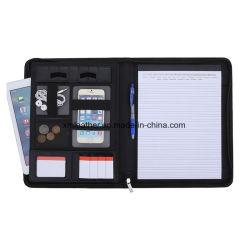 Business Padfolio Case CV Folder A4 Compendium PU Leather Portfolio