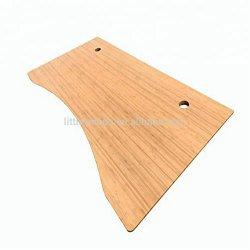 """Altura ajustable Stand Sit Rectangular Mesa 1"""" de espesor Ergo el borde del escritorio de bambú sólido"""