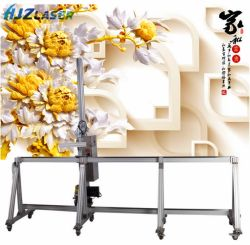 Heißer Verkauf Druck PVC-Wand-Maschine / Holz Decke Wand Tafelmaschine China