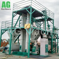 1-2tph Pet Feed Pellet Line Animal Feed Pellet Production Line