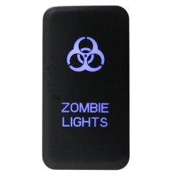 Pousser l'interrupteur des feux de Zombie de Toyota Le symbole 9 - Voyant bleu
