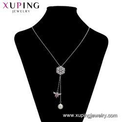 La mode de haute qualité environnementale de gros de la chaîne de neutre de cuivre plat rempli de chaînes de bijoux en or pour les femmes de collier