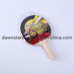 3 stars bourgeon en raquette de tennis de table en caoutchouc/pour l'usine de gros de raquette