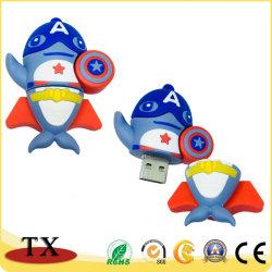 ذاكرة فلاش PVC مخصصة Gift Flash Drive USB