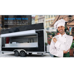 Comprar Mobile Fast Food Carreta Quiosque Cachorro Carrinho Alimentar Mobile utilizado caminhões de alimentos com cozinha para venda na China