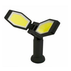 Feu de travail à LED de rafles pliable, ordinateur de poche portable rechargeable Lampe de travail avec le soutien à base magnétique étanche pour une réparation de voiture à l'aide et d'urgence, accueil