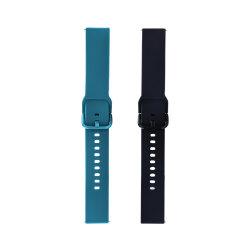 Cinturino di gomma mobile astuto del silicone di fascino sottile di lusso su ordinazione dell'OEM del ODM per lo sport di forma fisica della vigilanza del Apple con il progettista dell'oro della cinghia