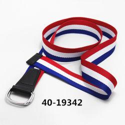 Cuero genuino de los hombres de alta calidad correa de cuero Correa con hebilla de Zinc/ PU Correa / cinturón elástico 40-19342