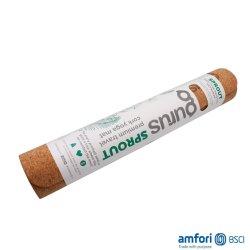 BSCI 5mmの環境に優しいカスタム多彩で無毒な男性および女性によって使用されるCork&Rubberのヨガのマット