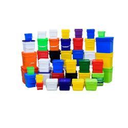 Comercio al por mayor grado de alimentos/ pintura agua/ pet food/ /dulces de Pastelería de cola de aceite de motor // Cosméticos aceite de lubricación de los envases de plástico //Cubos cuadrados/ Cubos de plástico cuadrada