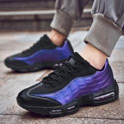Venta caliente hombre zapatilla moda Cómodo PU Outsolewomen superior de goma resistente al agua los zapatos deportivos