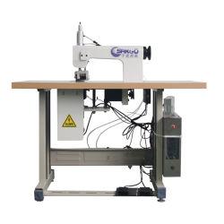 초음파 레이스 기계 자동적인 산업 초음파 비 길쌈된 직물 레이스 재봉틀