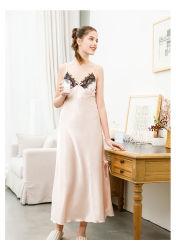 プライベートラベルの女性のための女性の優雅な絹のセクシーなスリープ服