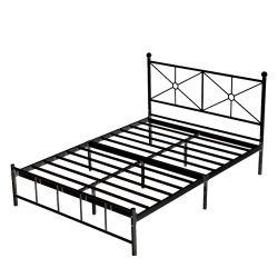 침실 호텔 가구 금속제 철제 싱글 더블 침대