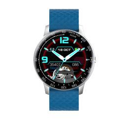 Il braccialetto astuto di cuoio allaccia gli sport Smartwatch delle coperture del metallo