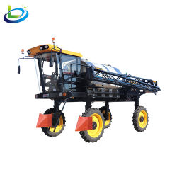 Trattore agricolo sospensione campo pesticida pianta agricola irroratrice per agricoltura