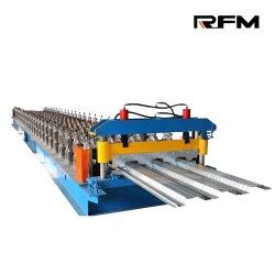 Горячие продажи автоматическая металлический пол палубы плиткой лист формирования рулона бумагоделательной машины с установленным на заводе