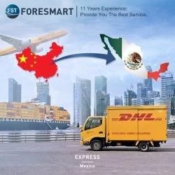 خدمة مندوب التوصيل السريع الرخيصة من DHL UPS TNT إلى المكسيك