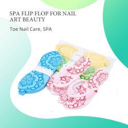 Multicolor baratos señoras Beach Hotel cuarto de baño de espuma EVA SPA Pedicura zapatillas desechables