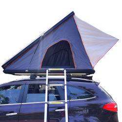 غلاف صلب تلقائي ذو غطاء خارجي مطوية ومطيّ يخيّم بالألومنيوم خيمة سقف السيارة الرياضية متعددة الاستعمالات