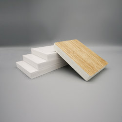 Tablero de espuma de hoja de PVC de poliestireno expandido