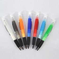 Linli 맞춤형 미니 휴대용 플라스틱 손 살균기 분무기 펜, 알코올과 향수를 위한 스프레이 발펜