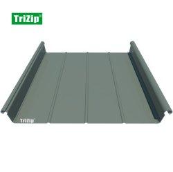 Из алюминиевого сплава Trizip постоянного шов кровельных листов, кровельные панели, FM утверждения Trizip65-400
