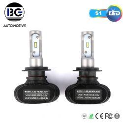 고출력 LED 헤드라이트 30W 8000lm 고품질 S1 H7 H1 H3 LED 램프 H11 9005 9006 차량용 LED 헤드 램프 전구 H4 H13 9007