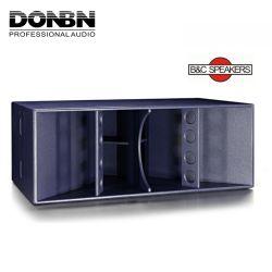 Donbn FT-218 fehlerfreie einprogrammiert Baß-Lautsprecher Subwoofer des Lautsprecher-2X18 '' Hupe