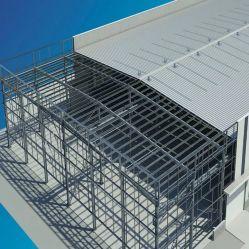 Estructura de acero Peb Taller de depósito de almacenamiento con bastidor de la luz