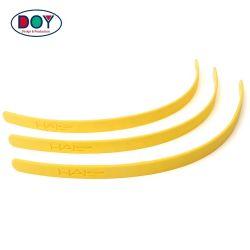 Утюг на пользовательских Debossed 3D логотип нетоксичного резиновые силиконовые Противоскольз. Полоски исправлений метки