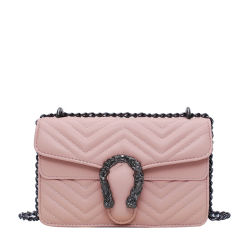 One-Shoulder Saco Diagonal da 2021 New Fashion Tote Saco a tiracolo bolsas de luxo mulheres Crossbody Bag com corrente