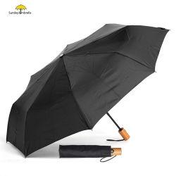 Windproof de apertura y cierre automático impermeable Plegable Portátil paraguas de viaje