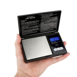 Venta caliente Pocket Digital portátil balanza electrónica Báscula de joyería