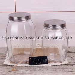 Haute qualité de la farine de Homeware Canisters /Cookie Jar de verre / thé et café de sucre canisters