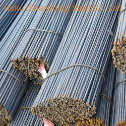 El grado 60 SS400 S355 SRH335 de la SRH400 de la SRH500 de la barra de acero hierro deformado la varilla de acero laminado en caliente de hormigón para la construcción