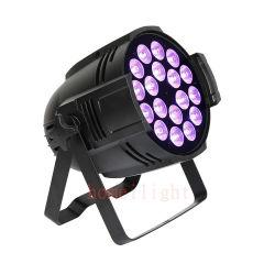 التحكم في DMX 18*10 واط LED RGBW 4in1 /5 In1/ 6in1 بار إضاءة تأثير الغسيل بالنور في مرحلة DJ Club Party Light التي يتم فيها تنقية المرحلةDJ