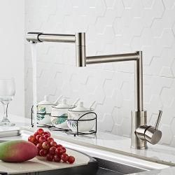 Verteiler-Edelstahl-Potenziometer-Einfüllstutzen-Küche-kaltes Wasser-an der Wand befestigter Hahn