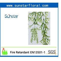 PE Staghorn папоротника висящих искусственных растений для дома (50468)