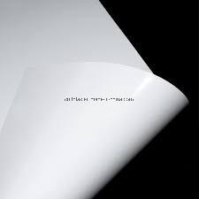 印刷のための無光沢か無光沢の白PVC堅いシート