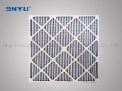 El bastidor de cartón de HVAC primaria/ Panel de polvo de Ahu plisada horno G3, G4, F5 Pre Filtro con malla
