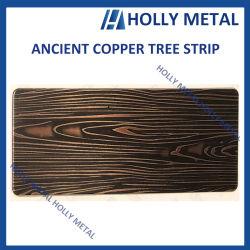 Фошань 304 класс старинной бронзового цвета визирной линии отделка из нержавеющей стали оформление листов