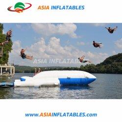 Kundenspezifischer grosser bunter See-aufblasbare Katapult-Aqua-Klecks-Sprung-Wasser-Spielwaren