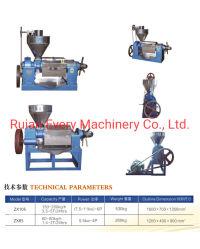سهولة التشغيل السعر جيد Sunflower Soybean Peanut Oil Press Machine