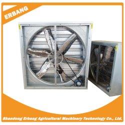 Roestvast staalmateriaal voor ventilatie gebruikt in fokbedrijf Van de werkplaats voor de productie van de axiale stromingsventilator