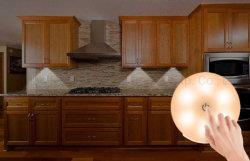 LED CMS rechargeable Touch de la lumière avec variateur tactile contacteur sous les éclairages du Cabinet et en vertu de compteur sans fil Stick pour couloir escalier sous-sol